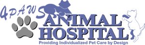 4 Paws Animal Hospital Logo