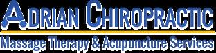 Adrian Chiropractic Logo