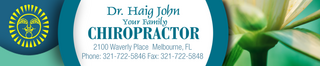 Dr Haig John Your Family Chiropractor