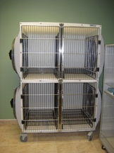 Our dryer cages use only room temperature air.