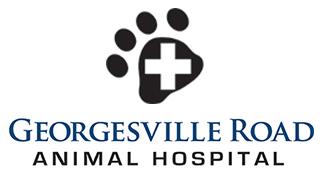Paw Cross dog and cat logo