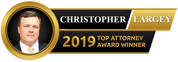 Christopher Largey 2019 Top Attorney Award Winner