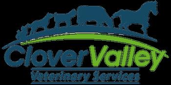clover valley vet logo