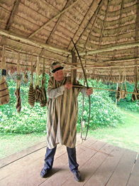 Amazon. While living with the Marchagenga Indians on the Manu River