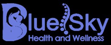 Blue Sky Health and Wellness Logo