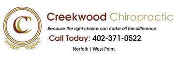 Creekwood Chiropractic Footer Logo