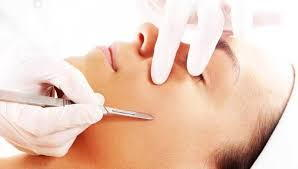 Dermaplaning service at Refined Day Spa
