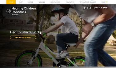 Santa Ana Theme Desktop Preview Image