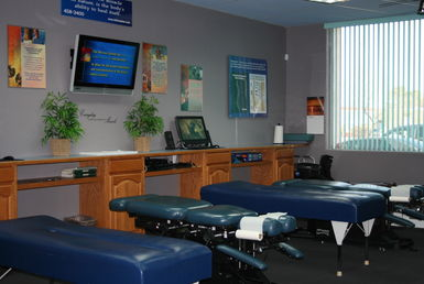 Our Big Chiropractic Adjusting Room