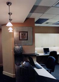 Front desk alternate angle