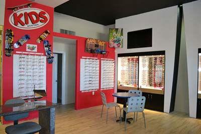Kids Glasses Section Inside 50 Dollar Eye Guy - Eyeglasses Pensacola