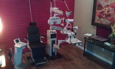 Optometrist Office Chair - Eyeglasses Pensacola - Fifty Dollar Eye Guy