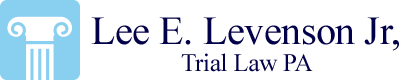 Lee E Levenson Jr, Trial Law PA