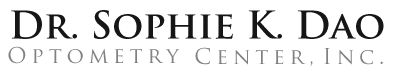 Dr. Sophie K. Dao Optometry Center, Inc. Logo