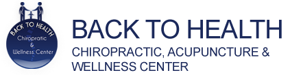 Back To Health Chiropractic. Acupuncture & Wellness Center Logo