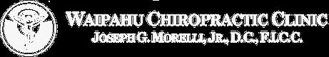 Waipahu Chiropractic Clinic Logo