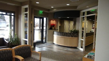 Waiting Room at Larsen Dental