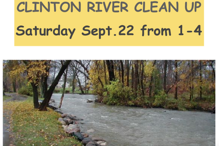 Clinton River Clean Up with Red Lotus Yoga