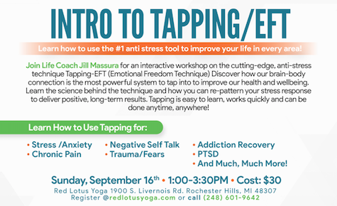 Healing with Tapping