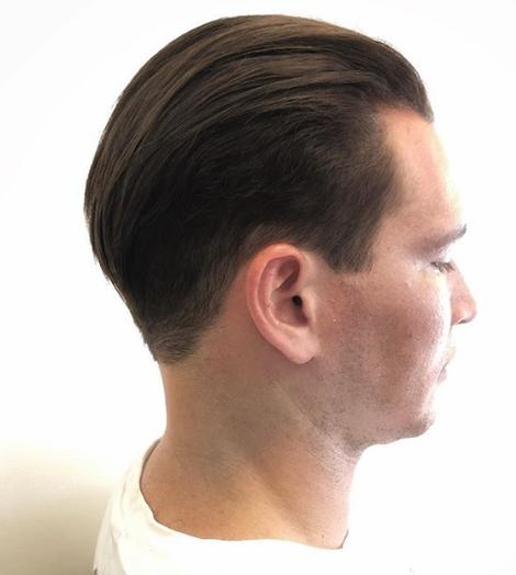 sleek mens cut