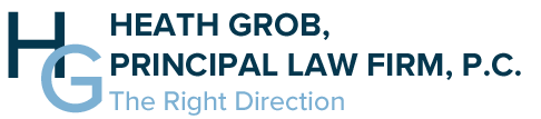 Heath Grob, Principal Law Firm