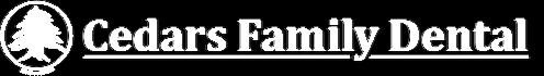 Cedars Family Dental Logo