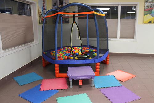 Ball play area