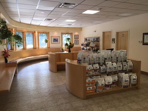 Our spacious lobby