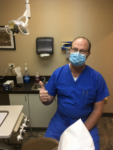 dental room with doctor