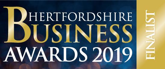 Hertfordshire business awards 2019 Finalist