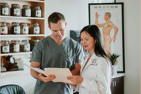 Dr. Xiao and Dari
