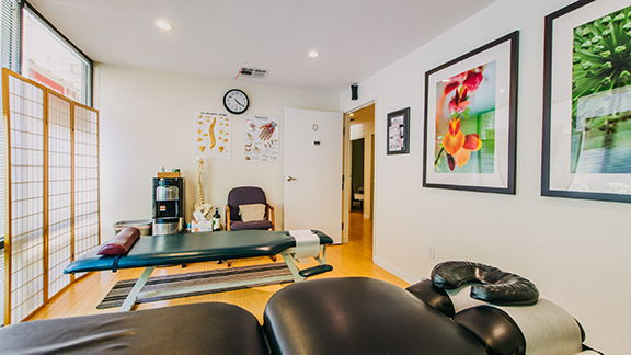 Scottsdale office TuiNa therapy room