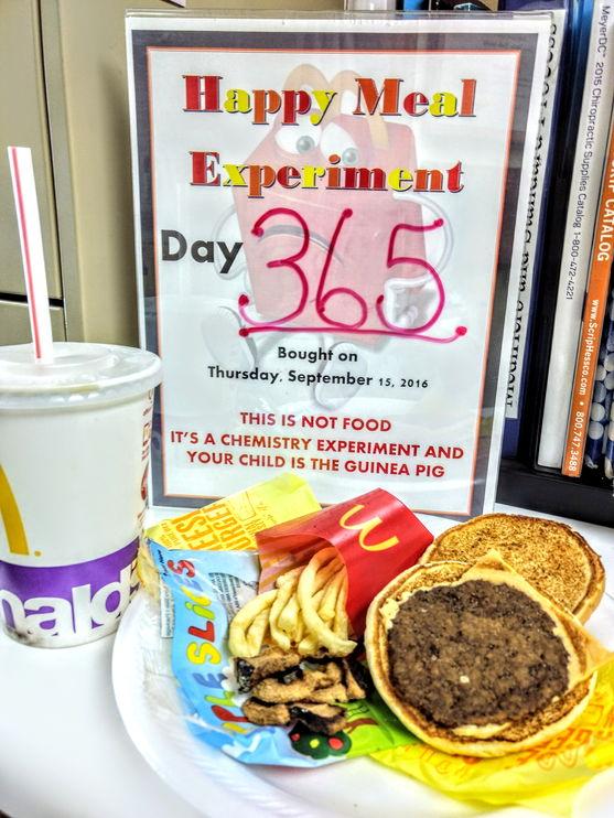 McDonalds One Year