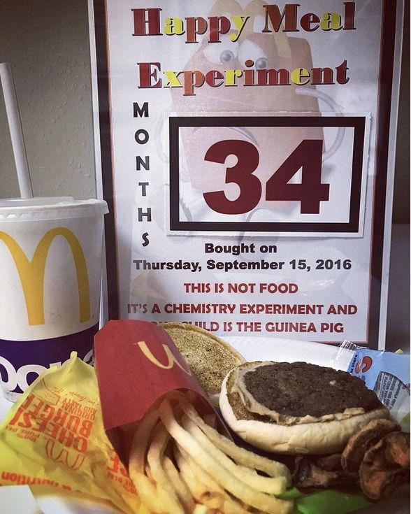 McDonalds 34 Months