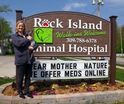Veterinary Hospital at Work