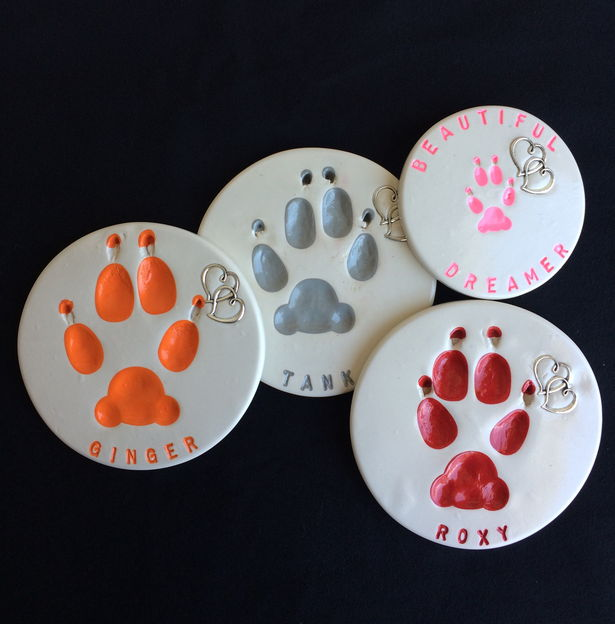 Paw Print Colors