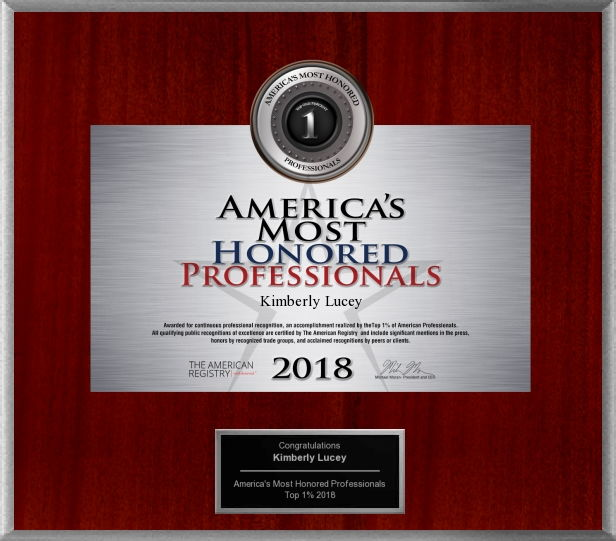 Americas Most Honored Professionals 2018