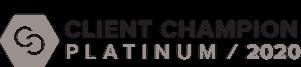 Platinum Client Award