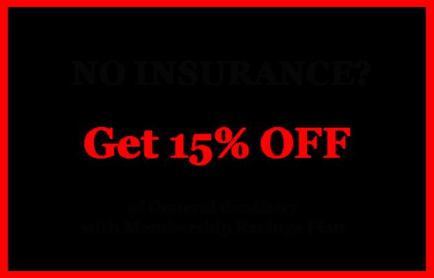 No Insurance Discount