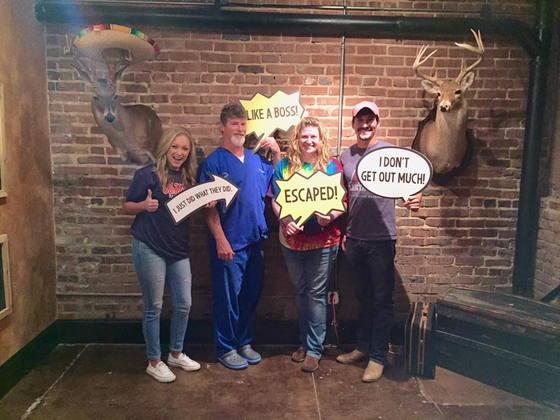 Team Fun at Jackson Escape Rooms