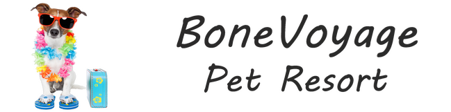 Bone Boyage Pet Resort Logo