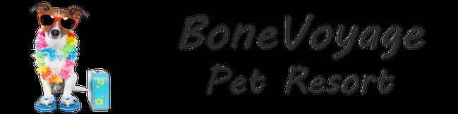Bone Boyage Pet Resort Logo