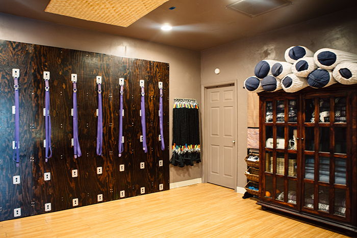 Yoga Studio Satya Wall Room