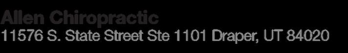 Allen Chiropractic Inc