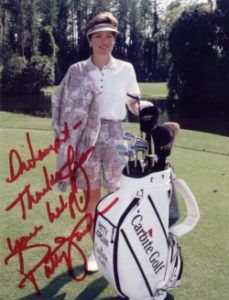 Golf autograph