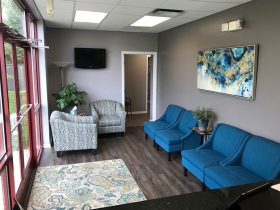 lobby of The Chiropractic Health Center