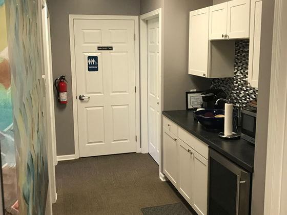 location of restroom