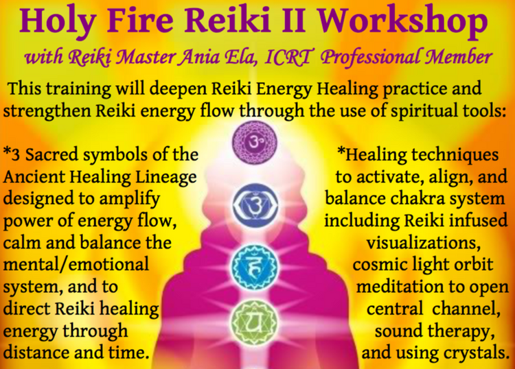 Holy Fire Reiki