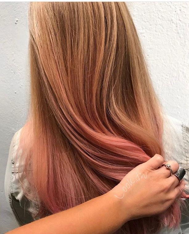 Peekaboo Pink by Stylist Dakota