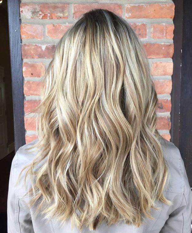 Blonde Highlights by Stylist Jen
